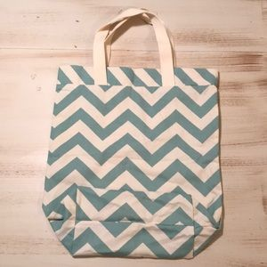 Cute Linen Tote/ Beach Bag